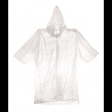 Emergency Poncho clear plastic waterproof