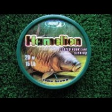 HAMELION coated braid soft/sinking 20m spool camo/brown mix 15lb/25lb