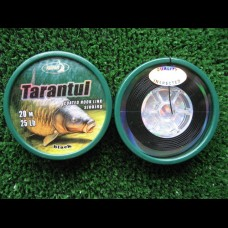 Tarantul,soft coated premium braid,20m spool. Black/sinking.
