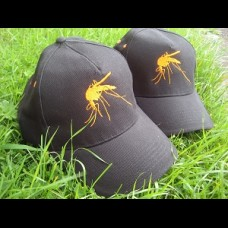 Mosquito embroidered Caps .One size fits all.