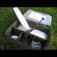 The whole CABOODLE PVA kit and padded sectional storage case.