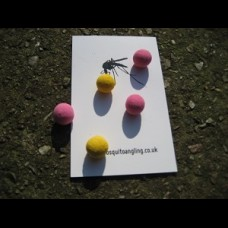 10mm, Floating spongies. Surface work/ZIGS/Chod/Bait toppers Mixed pack.