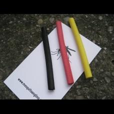 ZIG FOAM....  5 x sticks Red Yellow Black
