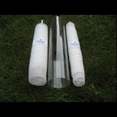 MozzyMesh Combo  Deal, 8m wide and 8m narrow  mesh + tubes and plunger.