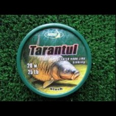 Tarantul  ,soft coated,20m spool. Black/sinking.