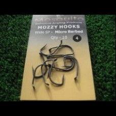 MozzyHooks Wide Gape Straight Point (SP) 10 pack.