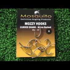 MozzyHooks Curved (Gripper) (Pack of 10)