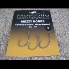 MozzyHooks Curved (Nickel Coated) 10 pack